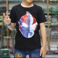 baju anak tshirt distro LED nyala kekinian murah grosir