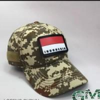 topi tactical loreng/topi army/topi tentara/topi bisbal/topi keninian