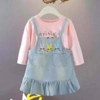 baju dress anak import