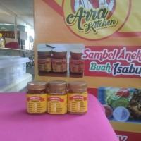 paket sambal buah isi 3 ( mangga, nanas, strawberry) By Marra Shop