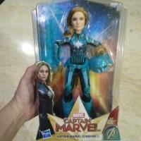 Marvel Avengers Captain Marvel Starforce Boneka Cewek Hasbro Original