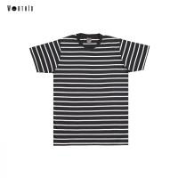 Worth ID Tshirt Black Stripe