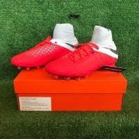 Sepatu Bola Nike Hypervenom 3 Pro DF FG - LT Crimson