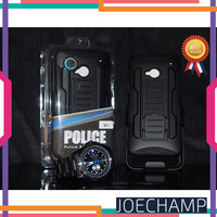 Future Armor HTC One M7 Case Hybrid Hardcase with Belt Clip