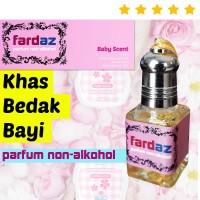 Parfum WANITA (Minyak Wangi) Aroma BEDAK BAYI - Fardaz Baby Scent