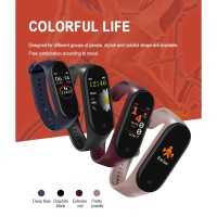 M4 Smart Watch Like Mi Band 4 Smartwatch Smartband Jam Tangan Sport