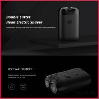 Xiaomi Mijia Double Cutter Head Electric Shaver / Pencukur Jenggot