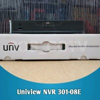 PROMO! Uniview NVR 301-08E - 8 Channel