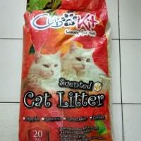 GOJEK Pasir Kucing 20kg Cub n Kit Paket 3 Karung 20kg setara 25lt