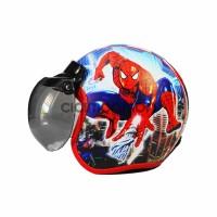 Helm Anak Model Bogo Karakter Spiderman