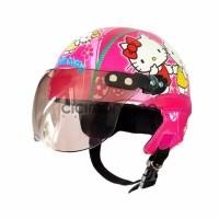 NEW SPECIAL Helm Anak Retro Karakter Hello Kitty