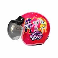 Helm Anak Gadis Model Bogo Karakter My Little Pony