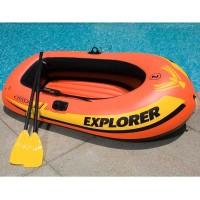 Rubbet Boat Perahu Karet Explorer Intex 58331 Gratis Pompa dan Dayung