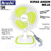 Kipas Angin Meja 8inch Arashi AR138