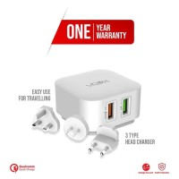 Ubox Switch Travel Charger Adaptor Home Charger With Warranty