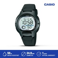 Casio Jam Tangan Digital Wanita LW-200-1BVDF Black