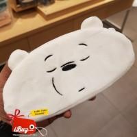 Miniso Cute We Bare Bears Ice Bear Tempat Pensil