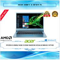 "LAPTOP ACER SWIFT 3 RYZEN 5-3500U 4GB 512GB VEGA 8 WIN10 14""FHD"