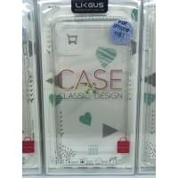 LIKGUS Case IPHONE 11 / 11 PRO / 11 PRO MAX CRYSTAL CLEAR LINEAR