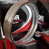 Velg TDR W Shape Set Ring 17 x 140 140 warna Silver
