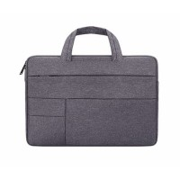 Tas Laptop 14 inch Macbook Softcase Pocket Hanstrap Waterproof - DG