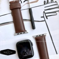 Strap AppleWatch iWatch IWO Genuine Leather 42mm 44mm 38mm 40mm Bro