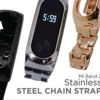 Mi Band 2 Stainless Steel Chain Strap Gold elektro