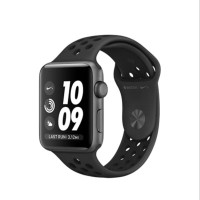 PROMO BESAR Apple Watch Nike Series 3 GPS 42mm Gray w Anthracite Bl
