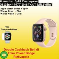 Apple Watch Series 4 GPS Aluminum Gold Pink Sport Band 40MM grab it