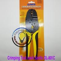 Crimping Tool untuk kabel coaxial RG 58 , 59 , 6 merk Sanfix TAIWAN