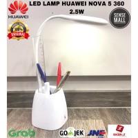 HUAWEI LED TABLE LAMP USB / LAMPU BELAJAR / LAMPU MAKE UP 2.5W 360