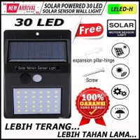 LED Solar Power PIR Motion Sensor Wall Light Outdoor Waterproof Lamp