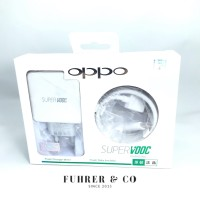 Charger Oppo Super VOOC Fast Charging Charger 5a Max Type C Usb