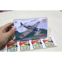 Minicraft 1/144 A6M2 Zero Japan Fighter Aircraft Military Scale Model