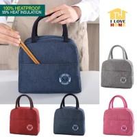 Lunch Bag Korea BRIVILAS / Tas Bekal Cooler Bag Heatproof Technology