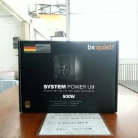 be quiet SYSTEM POWER U9 500W - 80 Plus Bronze Certified suku cadan
