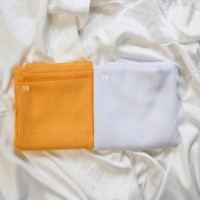 Sale Jilbab Voal Polos Segi Empat 110x110 ( 20 pilihan warna )