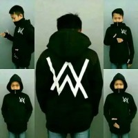 Jaket sweater anak masker alan walker ninja hoodie anak size S M L