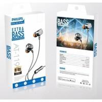 Earphone headset handsfree philips AT-119 Extra Bass