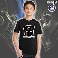 Kaos Anak / Dewasa warna - Transformers - Free Cetak Nama