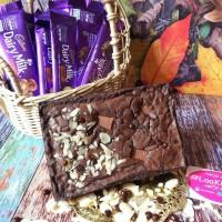 Mini brownies Cadbury mix almond Choco chips