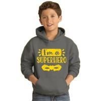 jaket sweater anak hoodie bahan tebal termurah - S