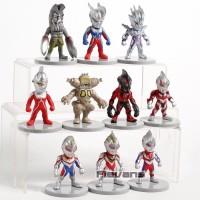 Action figure Ultraman Monster mainan chibi⠀⠀⠀⠀⠀