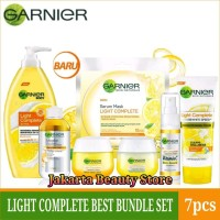 PAKET GARNIER LIGHT COMPLETE SET - Paket Complete Best Bundle Set 7pcs