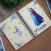 Xmas Notebook A5 (Frozen)