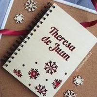 Xmas Notebook A5 (Snowflake)