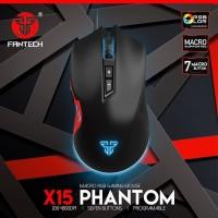 Fantech X15 Phantom Macro RGB Mouse Gaming Garansi Resmi