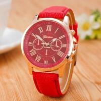 jam tangan HC J-100 Geneva (1 Kg = 50 Pcs ) Jam Tangan Leather