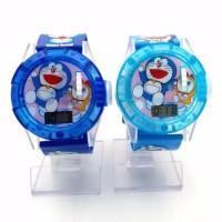 Jam tangan anak Doraemon LED musik new TERMURAH - DORAEMON HIJAU