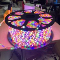 Lampu Led Strip Selang 5050 SMD per meter Outdoor RGB Warna warni Hias